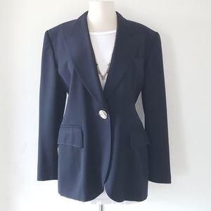 ESCADA Blazer Jacket Midnight Blue Virgen Wool